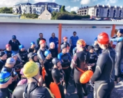 Galway Triathlon Club Start of Swim Session